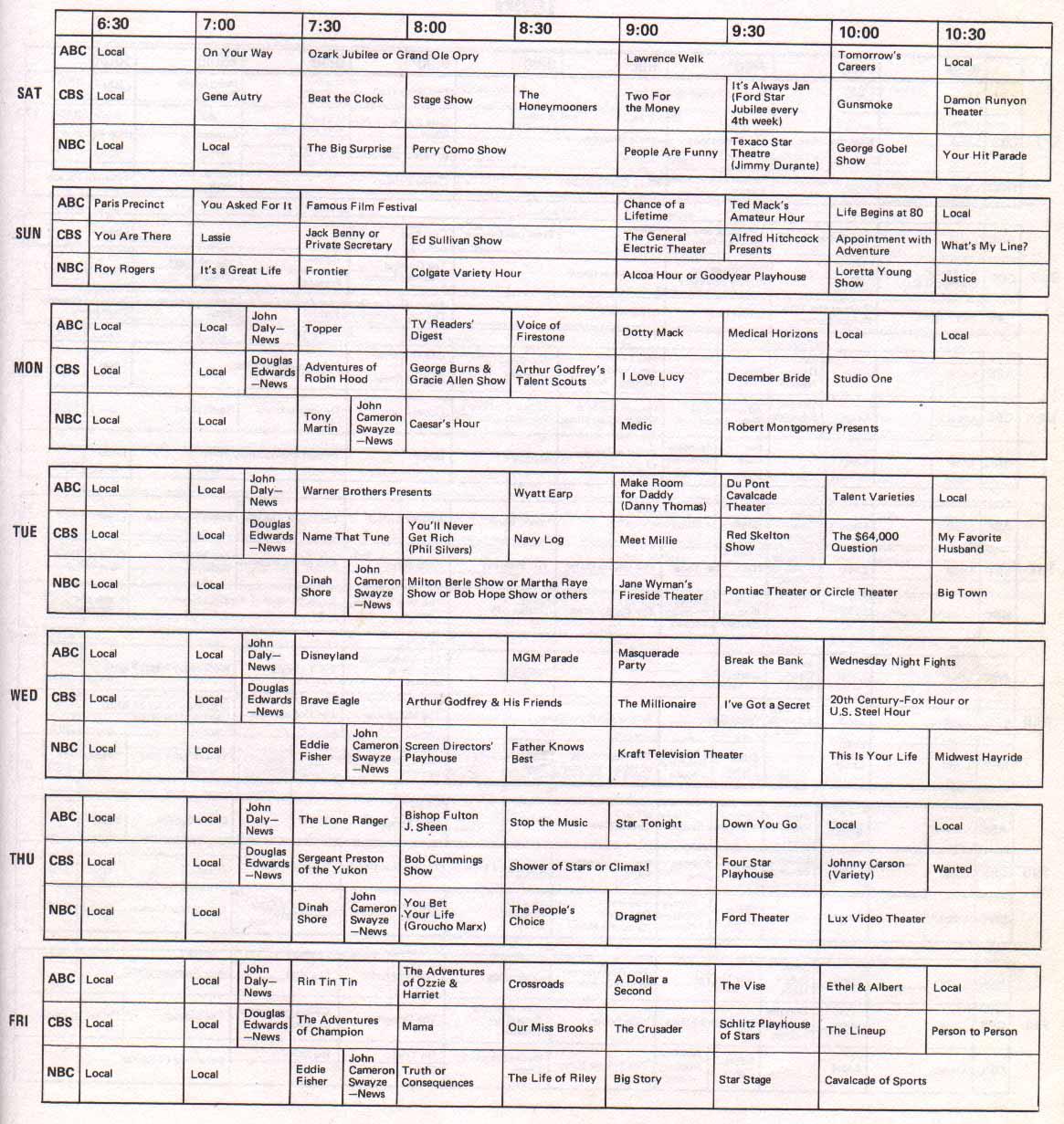 tv listings. tvg_1955_56_season_programs_nyc.jpg tv listings y